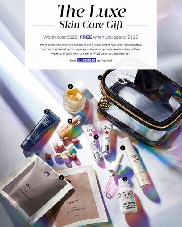 The Luxe Skin Care Gift
