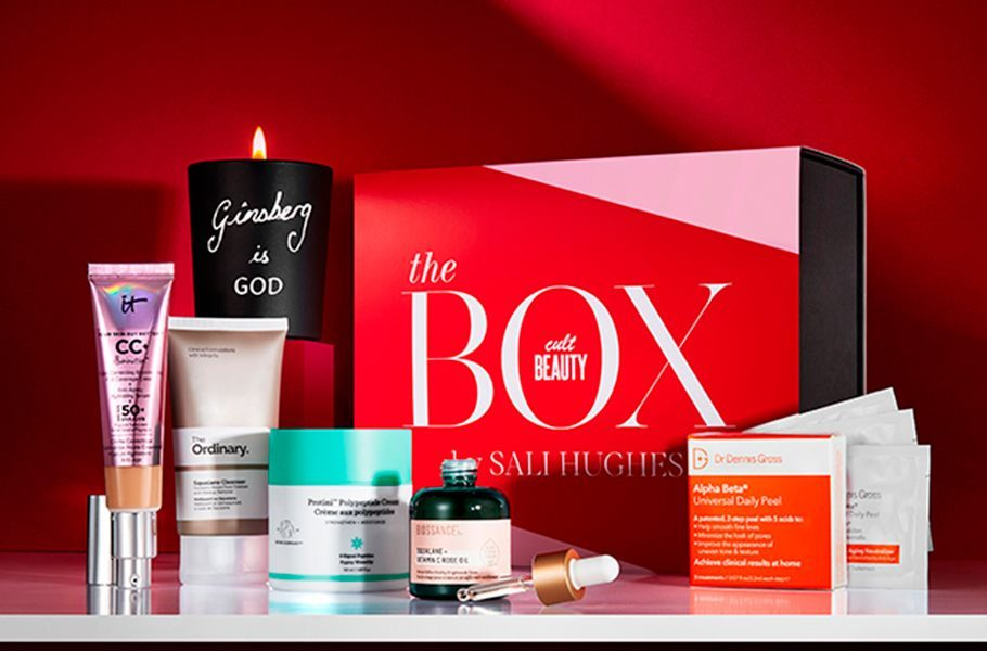 cult beauty x sali hughes beauty box
