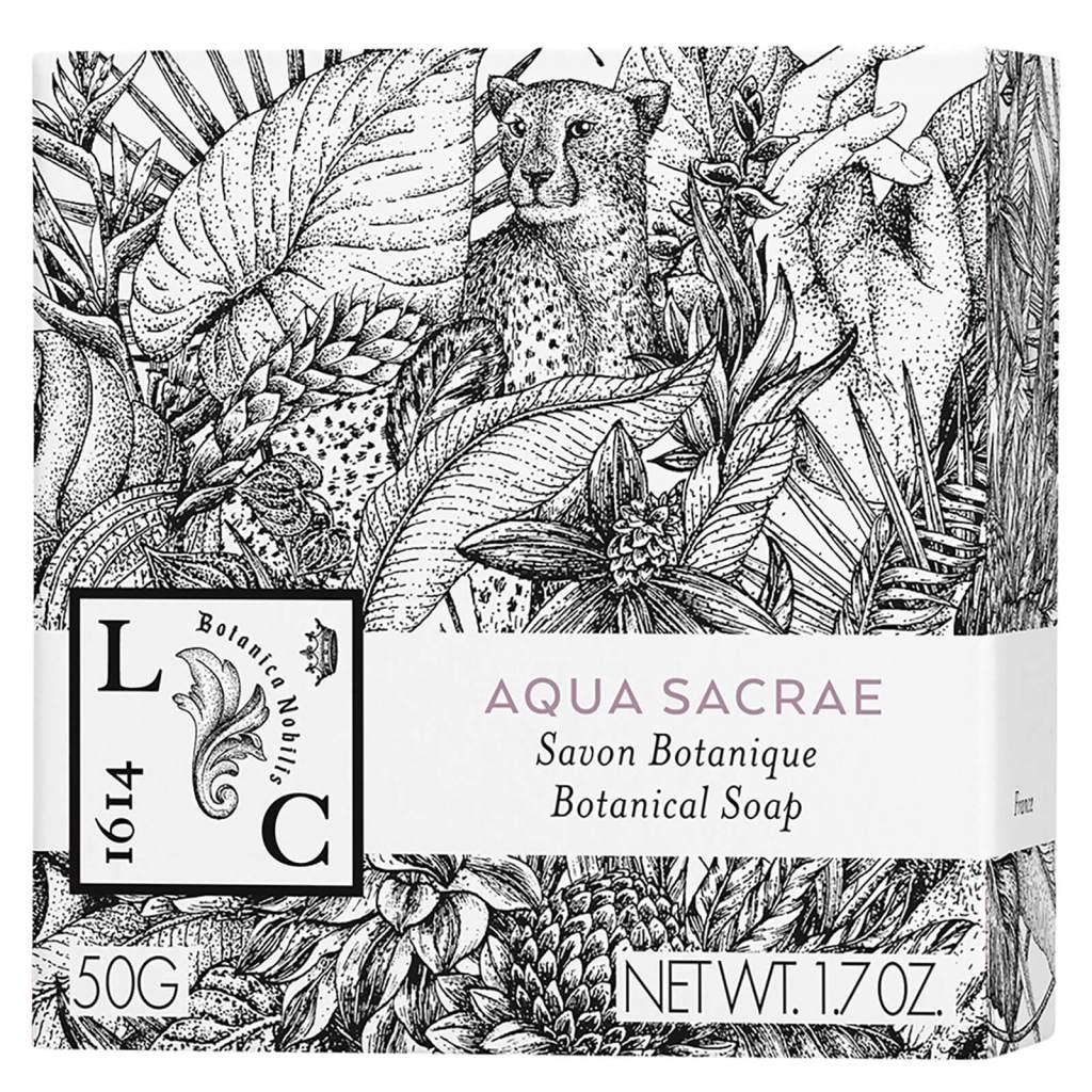 Le Couvent des Minimes Botanical Body Care Aqua Sacrae Soap Lookfantastic Beauty Box July 2020