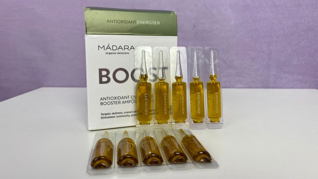 MÁDARA Boost Antioxidant Energiser Booster Ampoules