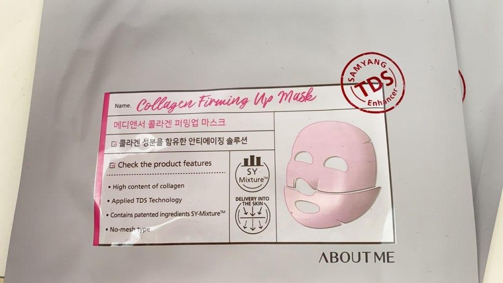 Collagen Firming Up Mask