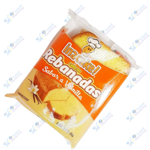 Inalecsa Inacake Pancake Rebanada de Vainilla 80 g