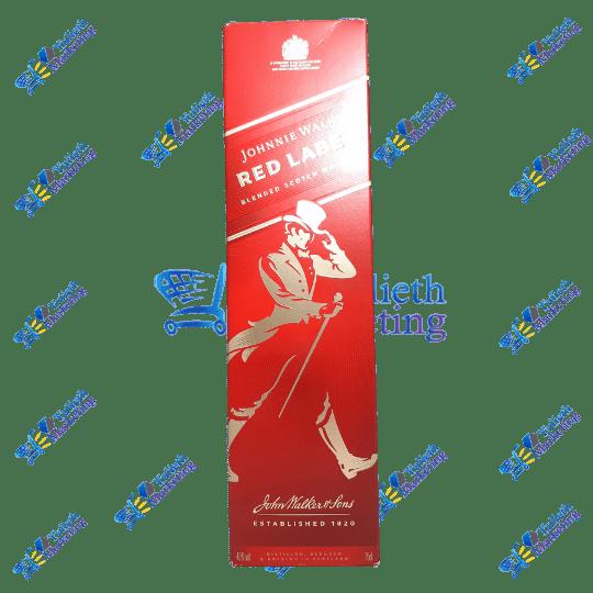 Johnnie Walker Whisky Red Label 750 ml
