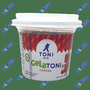 Toni Gelatoni Gelatina en Postre Cereza 200 ml