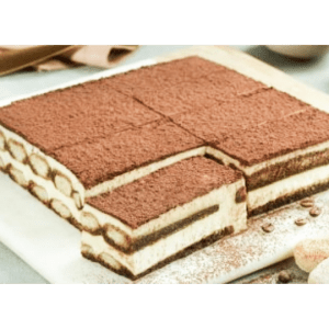 Bella Vanilla Pastel Tiramisú