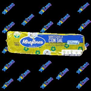 Miraflores Mantequilla con Sal 100 gr
