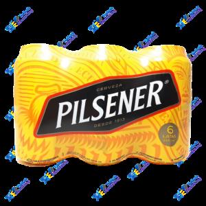 Pilsener Cerveza en Lata Pack x 6u 355 ml
