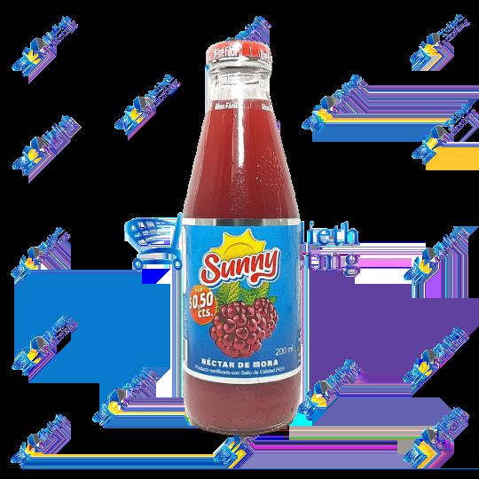 Sunny Jugo en Néctar de Mora 200 ml
