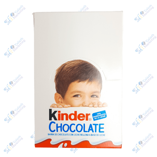Ferrero Kinder Chocolate Display x24u 300g