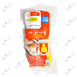 La Castilla Chorizo Campestre Packx4u 130g