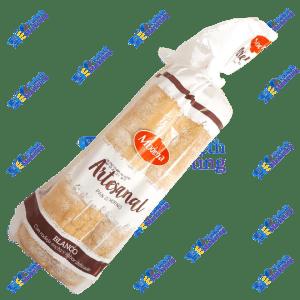 Moderna Pan Cortado Blanco Artesanal de Horno Packx14u 560g