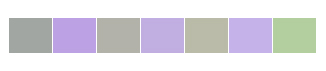 violet grey green palette