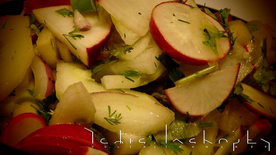 recipes | рецепты | полезное питание | редис