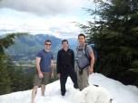Three hours later... East Peak!