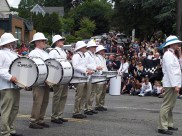 It's not a parade without a drumline.