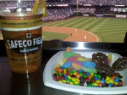 Sorry, that was a lie. Most awesome part? Beer and gummy worms.