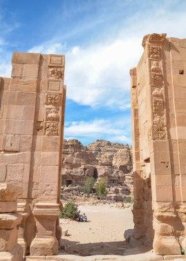 Petra. Hadrian's Gate