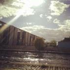 Sunshine at Regierungsviertel