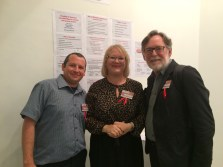 With my husband Michael Speroff, who also presented at the conference, and Jeremy Harmer