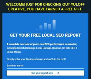 Free Opt-In on the Yuloff Creative website