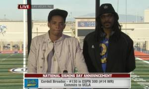 Snoop Dog's son is recruited by UCLA