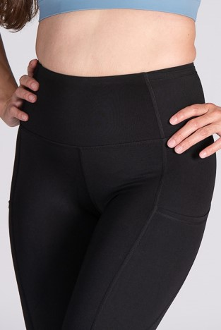 7/8 High-Waist Chilled Legging – Black