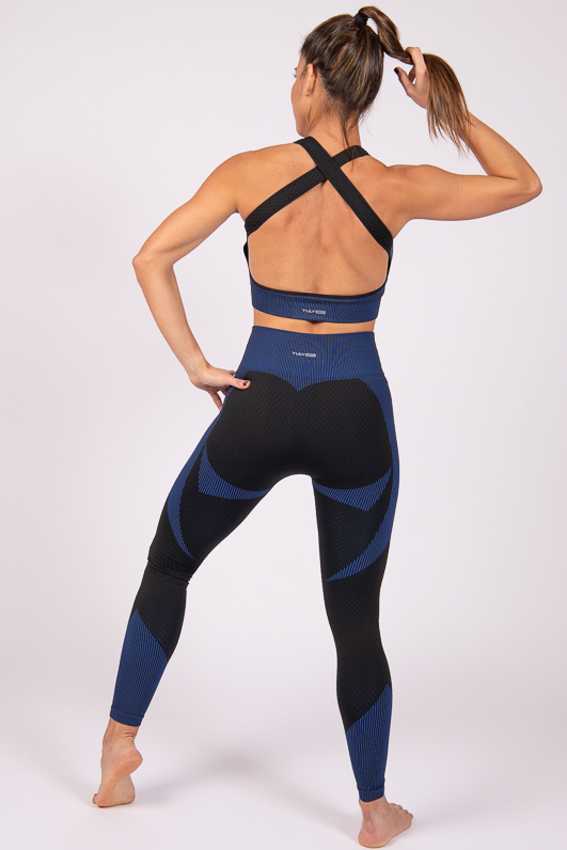 High-Waist Powerful Legging - Midnight Black