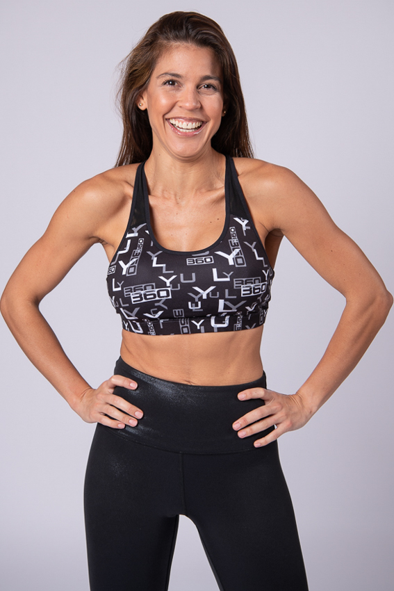 Courageous Core Bra –  Black/White
