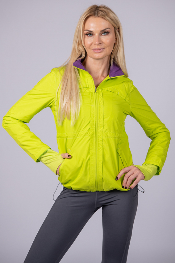 Stormy Jacket – Neon Lime