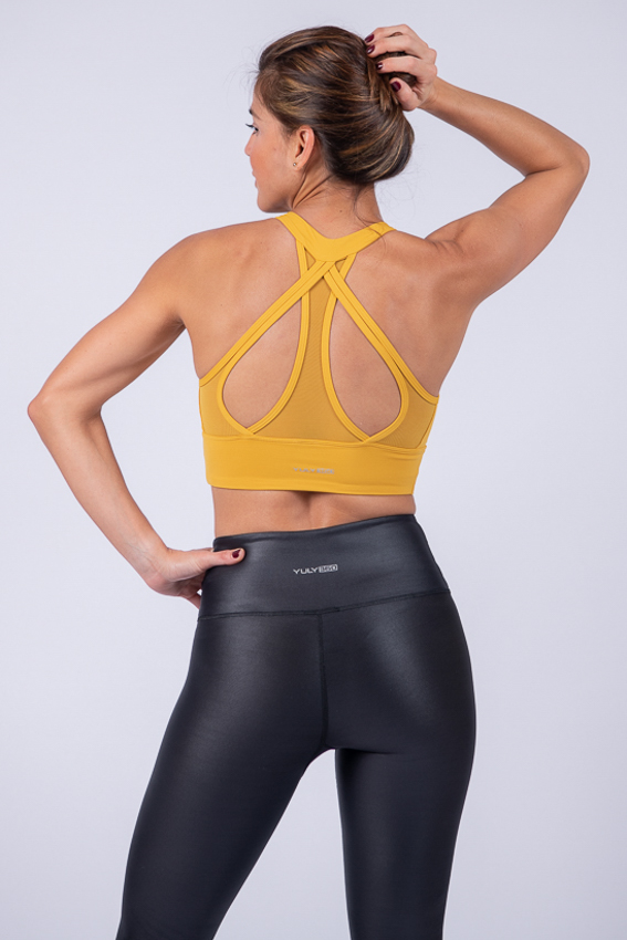 Reliable High Impact Sport Bra – Marigold