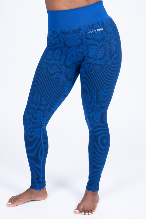 Intuitive Legging – Azure Scales