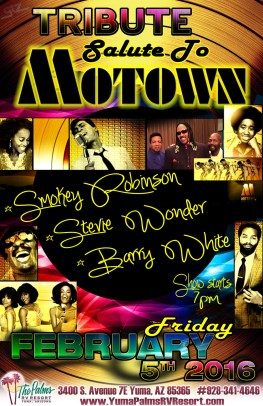 2016-02-05 Salute To MOTOWN Tribute