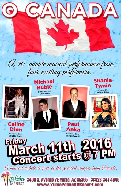 2016-03-11 O Canada Concert