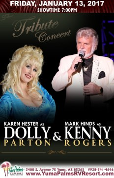 2017-01-13 Kenny Rogers & Dolly Parton – Tribute Concert