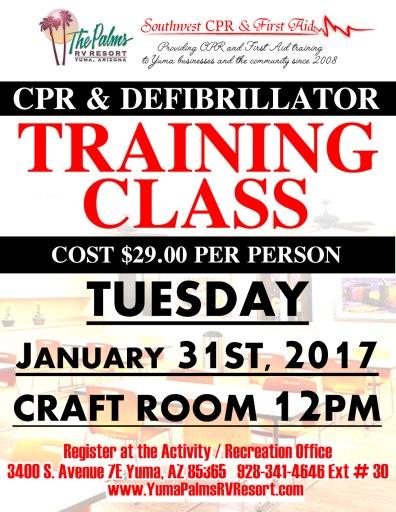 2017-01-31 CPR CLASS
