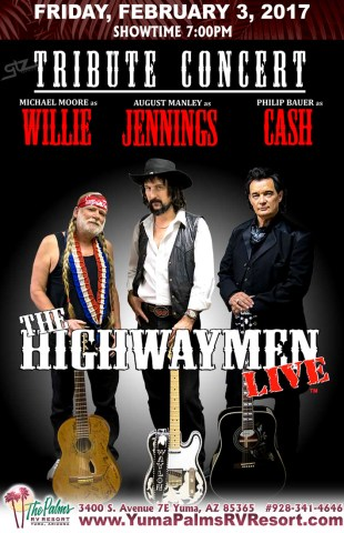 2017-02-03 Highwaymen - Tribute Concert