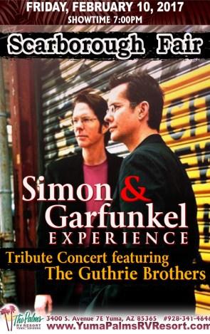2017-02-10 Simon & Garfunkel – Tribute Concert