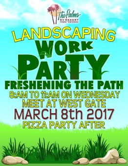 2017-03-08 Landscaping Work Party