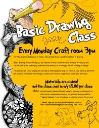 2017-2018 Basic Drawing Class