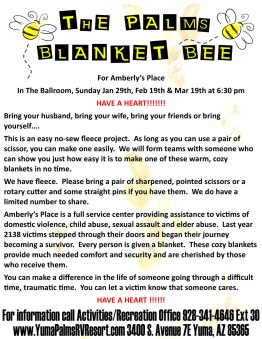 2017 Blanket Bee