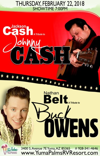 2018-02-22 Johnny Cash & Buck Owens - Tribute Concert