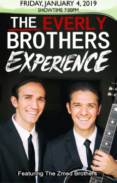 2019-01-04 The Everly Brothers Experience