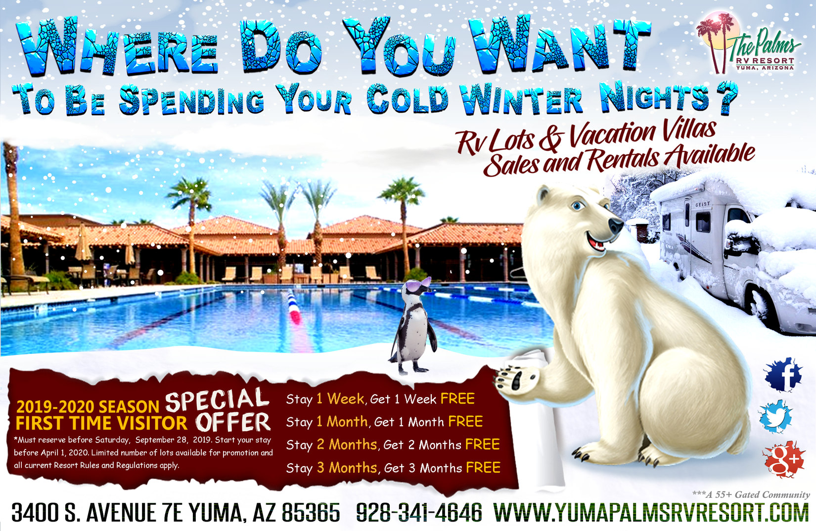 The Palms Rv Resort Yuma Arizona