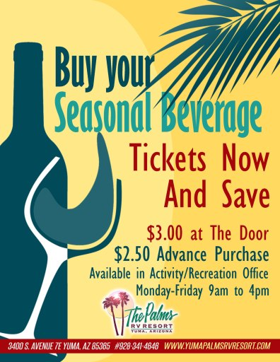 Save on Beverage Tickets