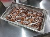 Cinnamon Buns: glazed and iced