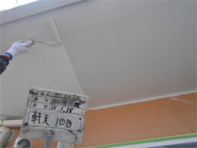 屋根・壁以外の部分の塗装