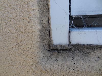 劣化が進んだ外壁