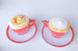 Delicious coffees