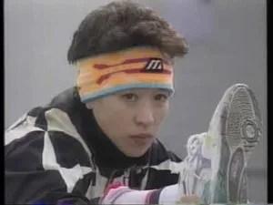 「橋本聖子の若い頃|富士急スケート部時代」の画像検索結果