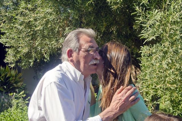 老人とキス